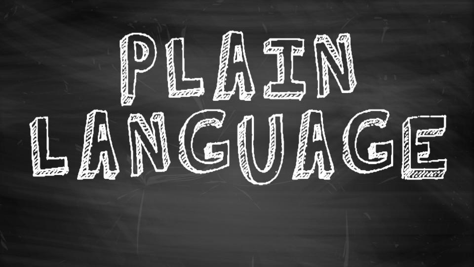 W2 — Bosley — Creating Plain Language Content